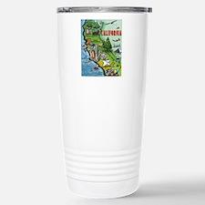 California Map Blanket Travel Mug