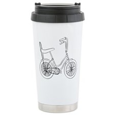 OldSchool bicycle Travel Mug