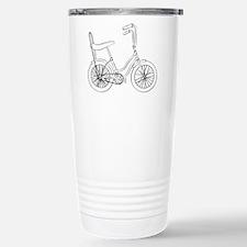 OldSchool bicycle Travel Mug