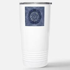 Flower of Life_Blue_9x7 Travel Mug