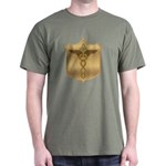 Masonic Military Corpsman Dark T-Shirt