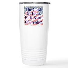 Clash of Ideas 35 dk bl Travel Mug