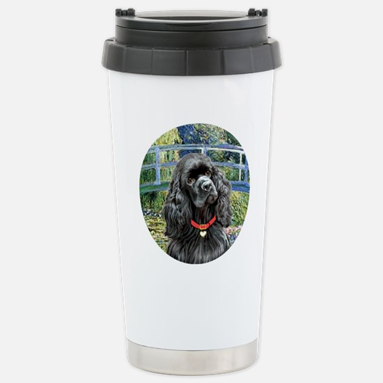 J-ORN-Bridge-Cocker-bla Stainless Steel Travel Mug