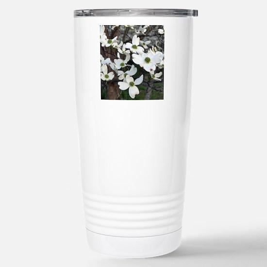 dog4-tile Stainless Steel Travel Mug