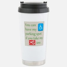 10 x 10 HandicapParking Thermos Mug