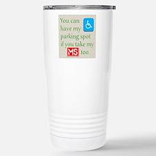 10 x 10 HandicapParking Travel Mug