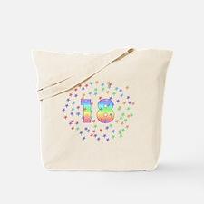18th Birthday Pastel Stars Tote Bag