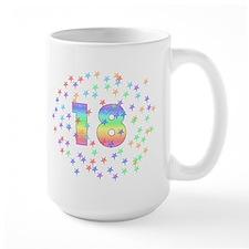 18th Birthday Pastel Stars Mug