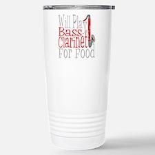 Will Play Bass Clarinet Travel Mug