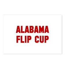 Alabama Flip Cup Postcards (Package of 8)