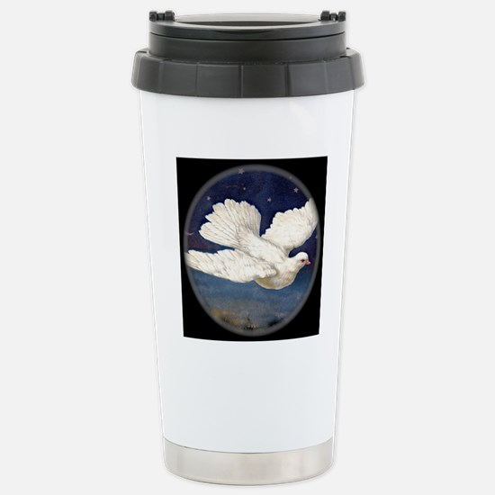 Dove of Peace Stainless Steel Travel Mug