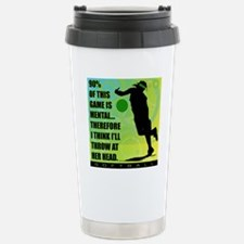 2011 Softball 72 Stainless Steel Travel Mug