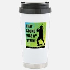 2011 Softball 111 Stainless Steel Travel Mug