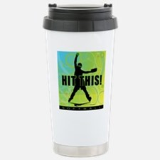 2011 Softball 96 Stainless Steel Travel Mug