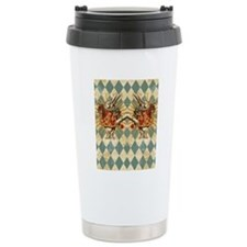 White Rabbit Vintage Travel Mug