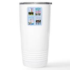 Lighthouses Outer Banks Travel Mug
