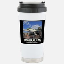 monorail LIME poster co Travel Mug
