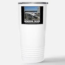 monorail SILVER poster  Travel Mug