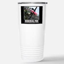 monorail PINK poster co Travel Mug