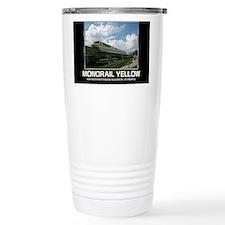 monorail YELLOW poster  Travel Mug