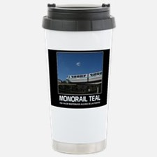 monorail TEAL poster co Travel Mug