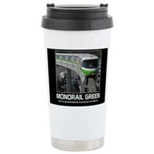 monorail gREEN poster c Travel Mug