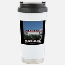 monorail RED poster cop Travel Mug