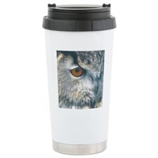 owl squ Travel Mug