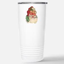 Santa Claus Stainless Steel Travel Mug