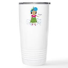 girl with hat-Rayna Travel Mug