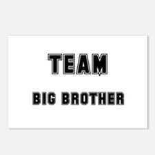 TEAM BIG BROTHER Postcards (Package of 8)