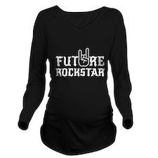 Future Rockstar Long Sleeve Maternity T-Shirt