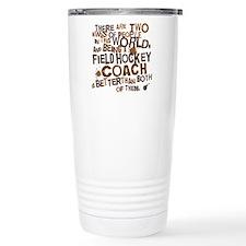 fieldhockeycoachbrown Travel Mug