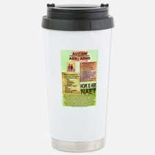 Small Autism Poster Stainless Steel Travel Mug