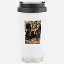 degas at the cafe Thermos Mug