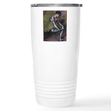 degas ballet green Thermos Mug