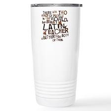 latinteachertwobrown Travel Mug