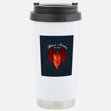 Ghost-largebuton Stainless Steel Travel Mug