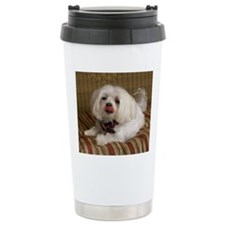 MalteseMousePad2 Travel Mug