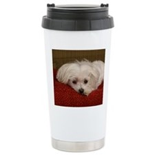 MalteseMousePad3 Travel Mug
