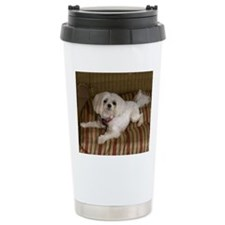 MalteseMousePad Travel Mug