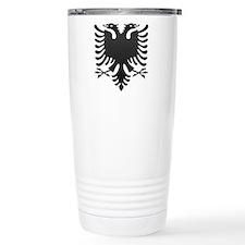 Albanian Eagle Carbon Travel Mug