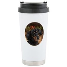 2011DachshundOrn Travel Mug