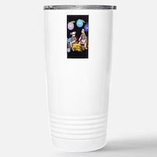 The Birthday Party - Sock Monkey Travel Mug