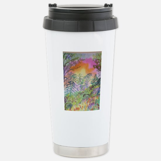 Colorful View Stainless Steel Travel Mug
