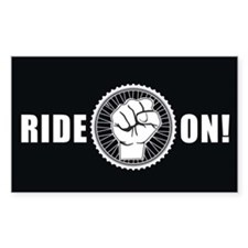Ride On Decal