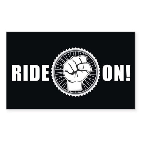 Ride On Sticker