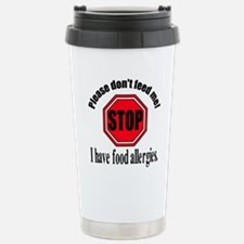 Food Allergies 1 Stainless Steel Travel Mug
