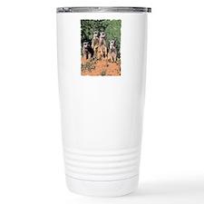 MEERKAT FAMILY PORTRAIT Travel Coffee Mug