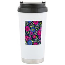 Art Deco Flowers FF Thermos Mug